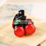 2016 New Arrival Cute Fruit Cherry Hair Claws Hairpins for Girl Cute Hairgrips Hair Accessories
