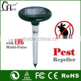 GH-316B Garden Solar sonic electronic snake repeller with LED light
