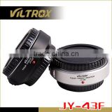 Viltrox Lens Mount Adapter Ring for Olympus Camera PEN E-PL1/E-P2 Series and 4/3 Lens Auto Focus AF