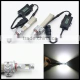 Newest 8000lm 5S high power 9005 all in one led car headlight, high quality led headlight with LUXEON ZES