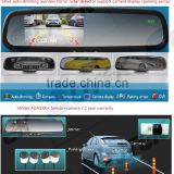 Car parking Sensor Type and DC 12V Voltage rear view camera for renault,rearview mirror optional