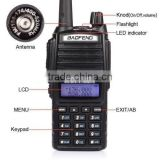 5W UHF/VHF baofeng dual band radio UV-82 handheld two way radio walkie talkie FM radio interphone