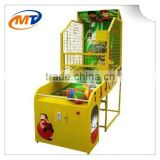 electronic coin operated basketball arcade hoop game machine for children