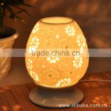 Ceramic out plug lamp decorative white candle holder