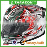 Auspicious clouds high quality popular ABS Material ECE Certification Full Face Motorcycle helmet