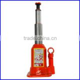 Hydraulic Bottle Jack With Double Lift Telescopic Rams For Extra Long Stroke