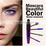 Music Flower M2054 Eyes Makeup Eyelashes Extension 5Colors Waterproof 3D Fiber Mascara For Eye Cosmetics