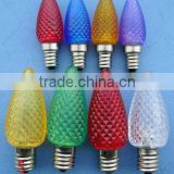 Led lighting manufacturer c7 c9 christmas light bulb e17 led light bulb for holiday time