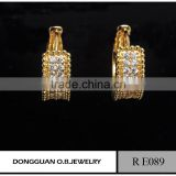 Bulk wholesale factory price stud earrings new 2016 latest gold earring designs