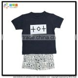 BKD 21015 new arrival organic cotton baby pyjamas set