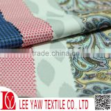 28% poly bamboo charcoal print fabric for sportswear
