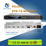 Terrestrial Digital TV DVB-T2 rf modulator ,CATV Digital TV Modulator BPSK,QPSK,QAM modulator COL5601