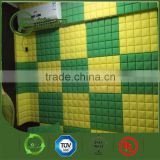 Square Shape Acoustic Sheet, Acoustic Grid Foam Panels Sponge Black Color Studio Sound Panel
