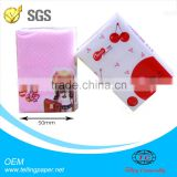 Hight quality 100% virgin pulp promotional mini pocket tissue pack paper