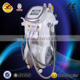 ND YAG laser Tattoo Removal E-light RF Body Facial Skin Rejuvenation Vacuum E-light IPL Hair Removal Machine / Skin Rejuvenation