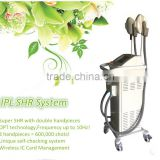 Salon FHR Permanent Painless Hair Removal Breast Lifting Up Equipment/ MES-K8 SHR IPL Beauty Device Fine Lines Removal