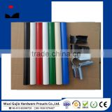plastic PE coated steel pipe/lean tube/galvanized steel pipe