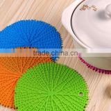 Creative home fashion models tree pattern silicone decorative table mat, round table plate mat, bowls mat wholesale