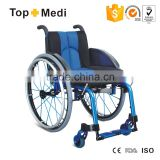 Topmedi manual aluminum sports wheelchair