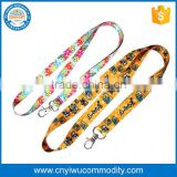 cute design children gifts oem brand name polyester lanyard