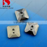 Square Shaped Crystal Rhinestone Fancy Glass Buttons
