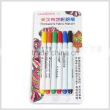 Kearing brand coloured drawing pen set of 6 pieces in blister card package # FM106