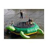 2014 Quality Inflatable Water Game Inflatable Water Trampoline With Turtle Shape kwg-g041