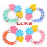 Food Grade Soft Silicone Teething Toys Teethers