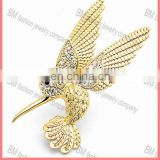 new jewelry Humming-bird Pin Brooch for men wholesale