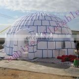 Inflatable ice cake dome tent, inflatable party tent T044