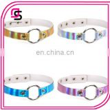 2017 hotselling women laser choker, different color laser choker