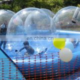 Inflatable pool with water walkers/water walkers pool/water pool