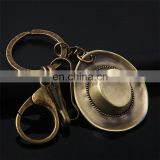 cowboy hat metal led keychain,shoe keychain