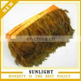 Factory Wholesale Cheap Pheasant Plumage Feather Trim for Carnival