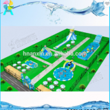 Commercial Outdoor Water Games Giant Inflatable Water Park Inflatable Aqua Amusement Park For Sale
