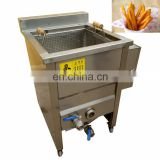 High quality stainless steel one to four boxes of heated French fries chicken Spanish fritters machine