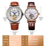 Watch factory OEM custom  stainless steel  mechanical watch