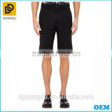 Cotton black mens golf shorts