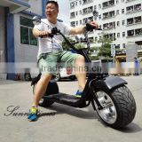 2016 High Reliable 1000W Motor 2 Wheel Self Balancing Electric Standing Scooter With Seat 60V Lithium Battery