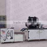 Automatic screen printing machine for keyboard membrane switch panel