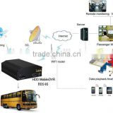 4 Channel Car DVR System Support 4 Cameras School Bus Mobile DVR Multi Camera System for Cars