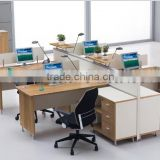 2015 new workstation melamine cubicle partition office workstation 4 person partition (SZ-WS249)