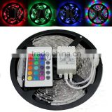 3528 5m 500cm RGB 300 LED SMD Flexible Light Strip Lamp+24 Key IR Controller