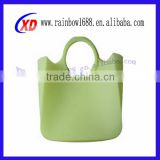 cosmetic shop customized silicone rubber bag rubber