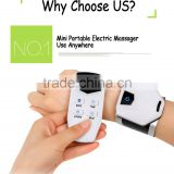 LCD digital display electric low-frequency tens device six therapy mode wireless TENS massager