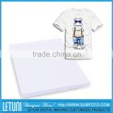 Best Quality T-Shirt Heat Transfer Sublimation Paper for Light Color