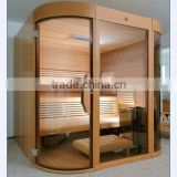 hot selling factory price steam sauna cabin,Solid Wood Main Material and Computer Control Panel Feature traditional sauna room