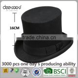 Chaplin Wool Felt Top Hat Wholesale China Men Hats Charm Top Hat                                                                         Quality Choice