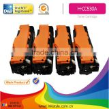 four colour toner cartridge cc530a with chip
