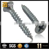 Grey phosphate color Coarse thread dry wall screw nail sizes/ weight/price